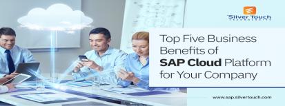 Five Business Benefits of SAP Cloud Platform