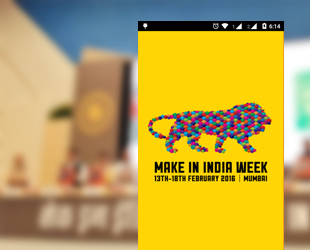 Make in India Event Mobile App