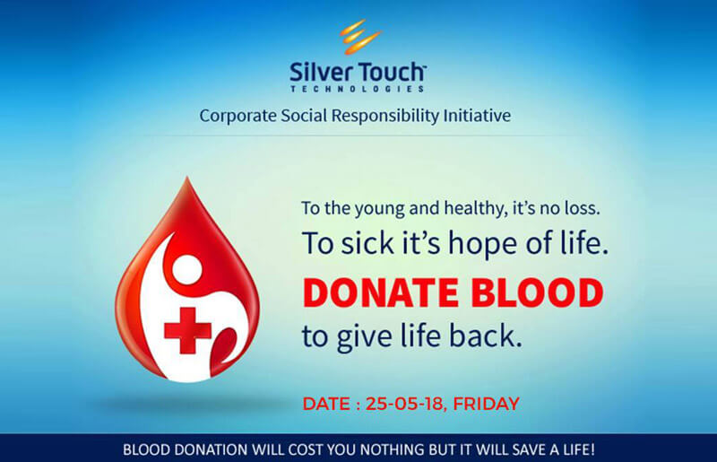Blood Donation Camp 2018 under CSR activity