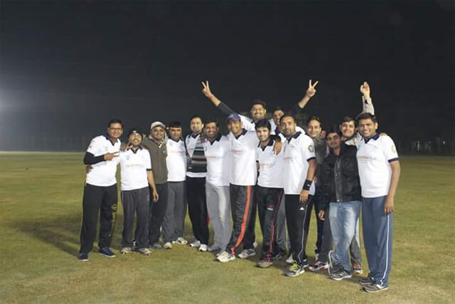 1st League Match of GESIA Cricket League-II