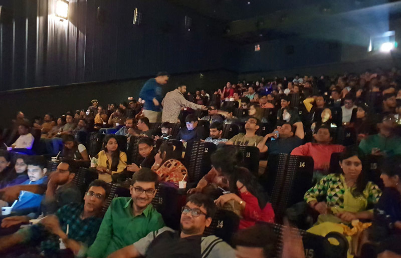 Special Screening of Movie Robot 2.0 for STTL Employees