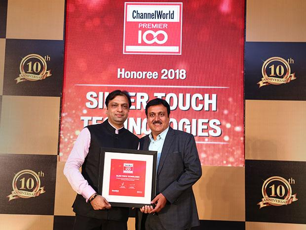 Silver Touch Technologies receives the Channel World Premier 100 Award for 2018