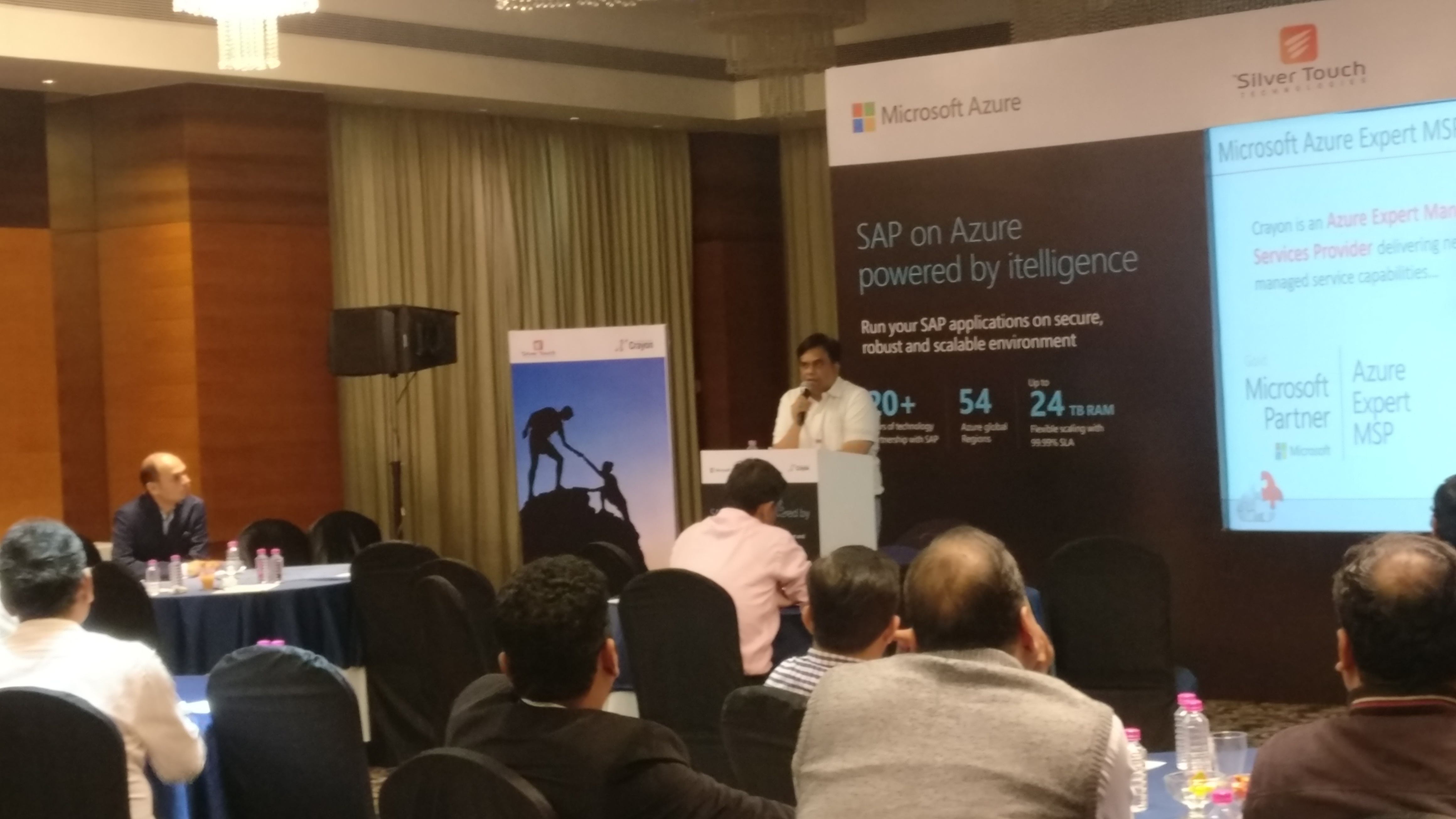 Silver Touch, Microsoft & Crayon jointly organised an event - SAP on Azure Experts