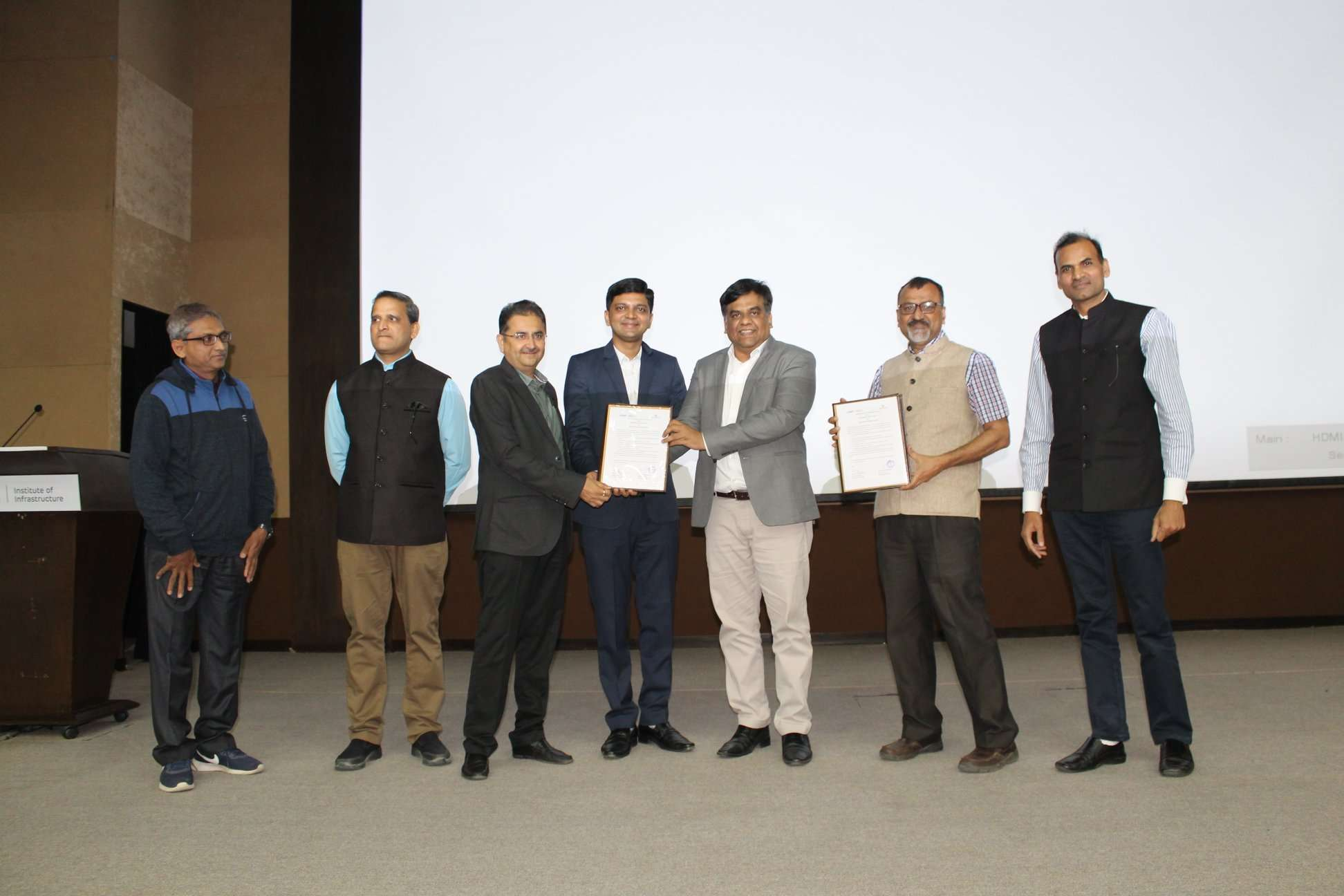 Silver Touch signed MoU with Adani Institute of Infrastructure